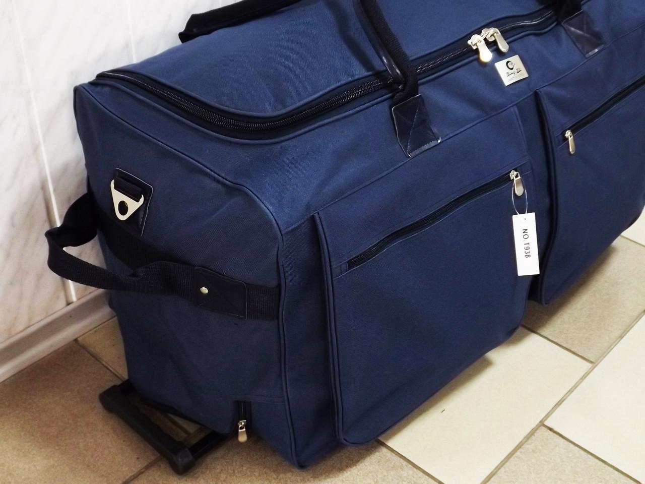 3f3798a6d9d1 Очень большая сумка на колесах Т-938 синяя 130 литров: продажа, цена ...