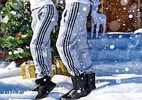 Мужские спортивные штаны № 722 серые