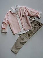 """Стильный костюм для девочки от ТМ """"Cool"""" 4,5,6,7 лет!"""