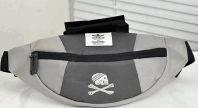 Надежная спортивная сумка на пояс Adidas Originals 179, серая