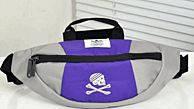 Симпатичная спортивная сумка на пояс Adidas Originals 180, фиолетовая