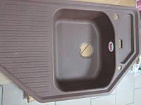 Врезная кухонная мойка гранитная Teka Texina B-TG (темно-коричневый)