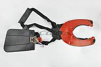 Ремень плечевой профессиональный для мотокосы (красный)