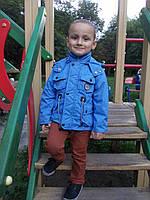 Детская куртка- парка для мальчика Осень 2016