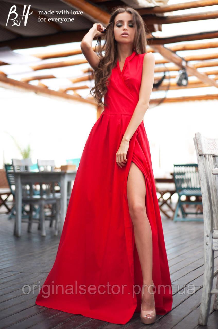 f4b1b1447a1 Элегантное платье с эффектом запаха длинное в пол   продажа по ...