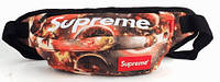 Молодежная спортивная сумка на пояс Supreme 104, разные цвета