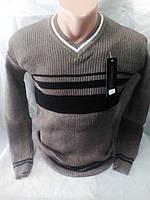 Молодежный качественный мужской свитер