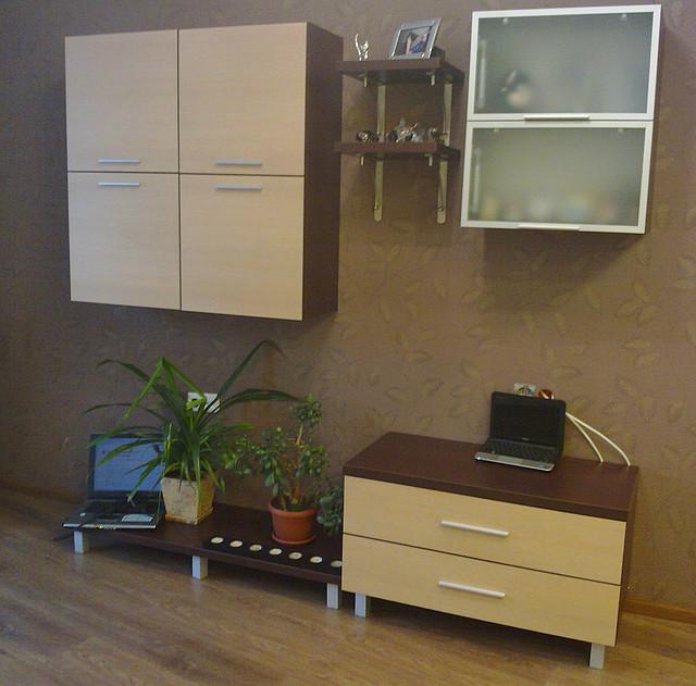 Мебель в гостинную на заказ из ЛДСП