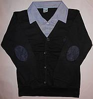 Рубашки - обманки голубой воротник