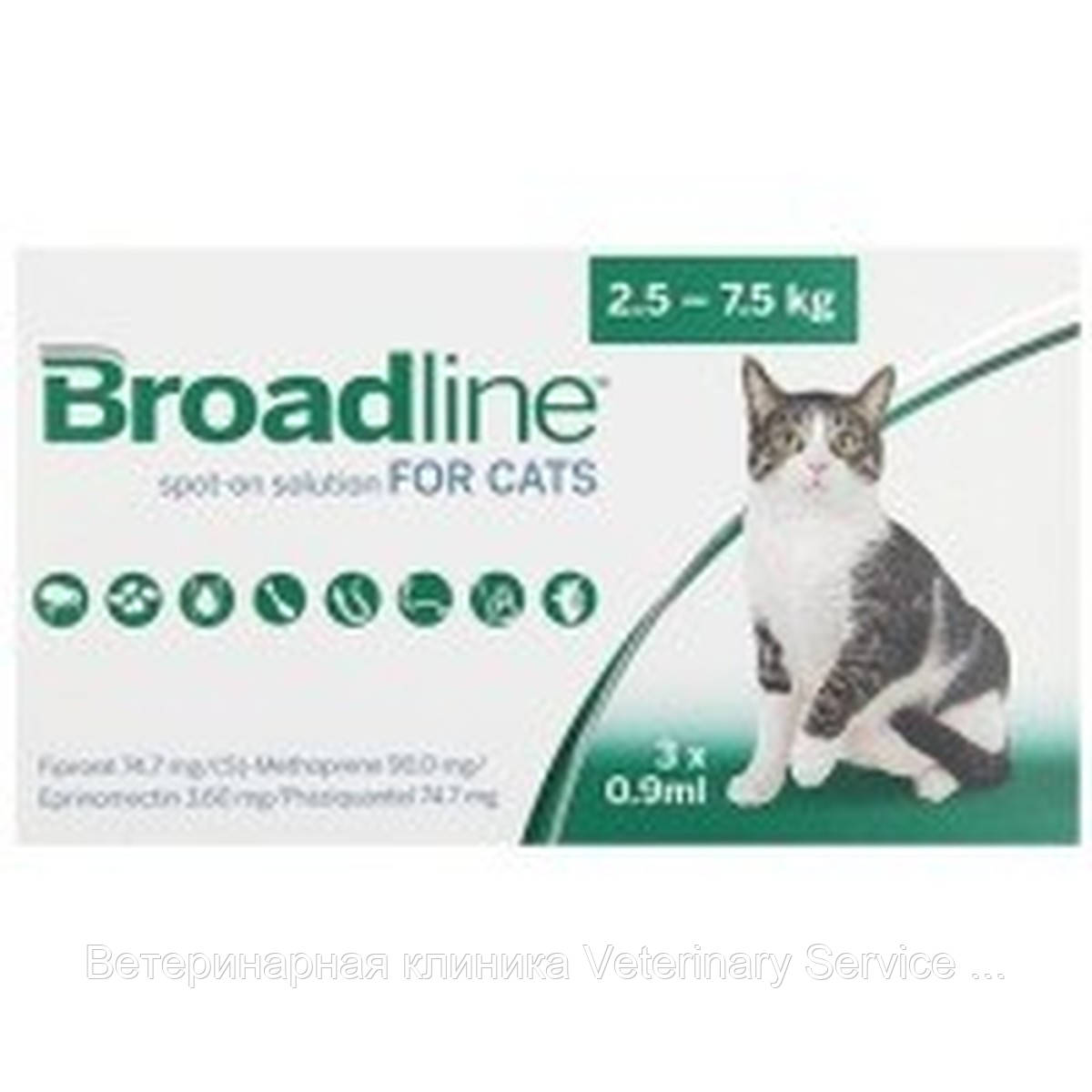 Brodline for cats