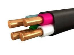 Силовой медный кабель ВВГнг 4х1,5