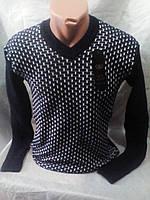 Мужской качественный молодежный свитер 48-50 рр