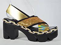 Босоножки на каблуке Aquamarin очень удобные