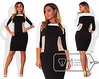Повседневное женское платье больших размеров е-202345