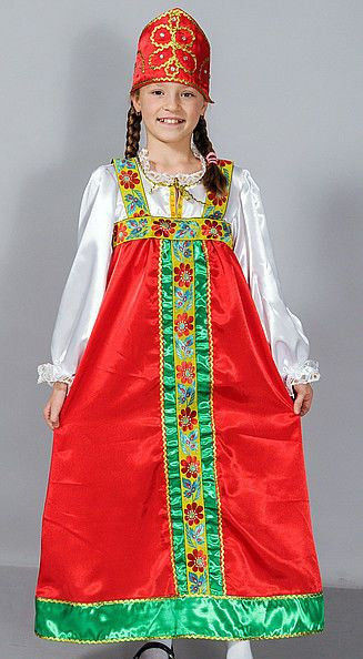 Новогодний костюм Аленушка