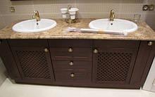 Мебель для ванных комнат из массива от производителя