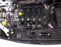 Двигатель Renault Kangoo 1.6 16V bivalent, 2005-today тип мотора K4M 850