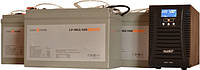 ДБЖ UPO-1000-36-el +3 шт. Акумуляторів LP-100MGL = 8-12 год автономної роботи котла опалення!