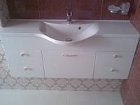 Мебель для ванной комнаты из крашенного МДФ