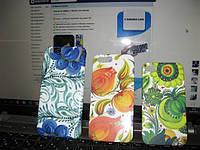 Чехол для Iphone (айфон) 4/4s, 5/5s, 6/6plus. Роспись Петриковка. Чехлы с Петриковкой.
