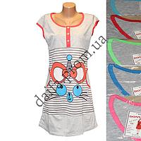 Женская котоновая ночная рубашка TL15 оптом со склада на 7км.