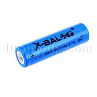 Аккумулятор литиевый Li-ion 3.7V 18650 8800mAh Синий