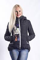 Женская куртка К-001 Черный
