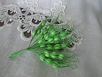 Колосок 7 см, яскраво-зелений