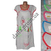 Женская ночная рубашка БАТАЛ LD11 оптом со склада на 7км.