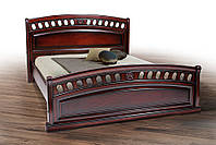 Ліжко Флоренція (масив дуба)