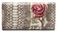 Классический кожаный женский кошелек H.VERDE art.2551-E20, фото 1