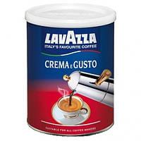 Кофе молотый Lavazza Crema e Gusto 250г. ж/б