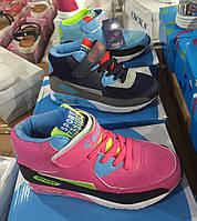 Детские высокие кроссовки для мальчиков и девочек оптом Размеры 32-36, фото 1