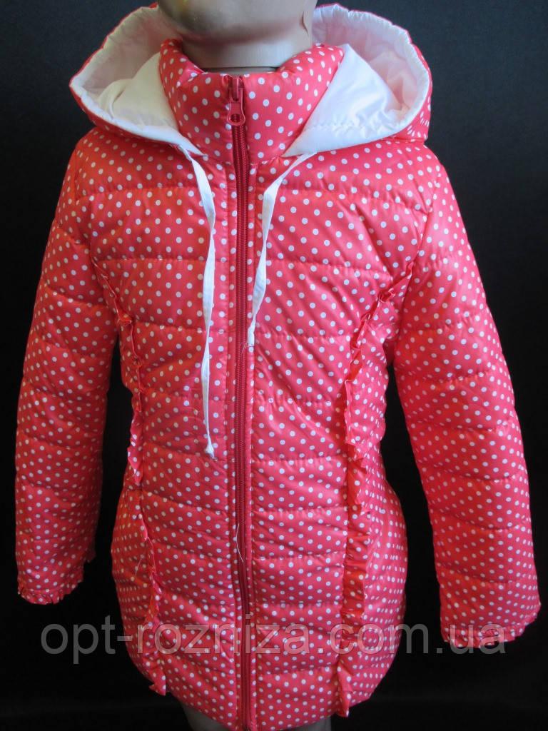 Куртки для девочек весна-осень