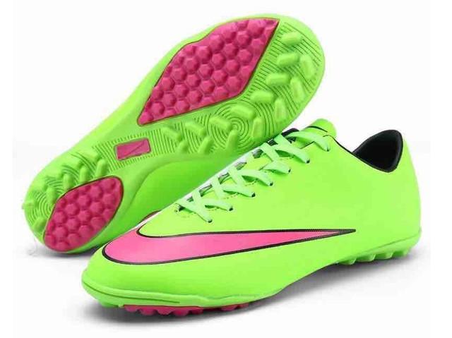 Футбольные сороконожки Nike Mercurial Victory V TF Green/Hyper Punch/Blk/Volt