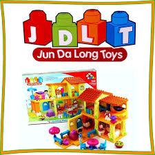 Конструкторы JDLT крупные детали для детей от 2-х лет