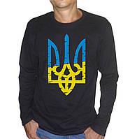 Чоловіча футболка зі стилізованим гербом України