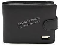 Стильный практичный кожаный мужской кошелек портмоне SALFEITE art. 8233N-BLK черного цвета, фото 1