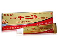 Крем китайской медицины Иганержинг от псориаза, экземы и дерматитов