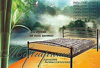 Кровать металлическая двуспальная Маргарита