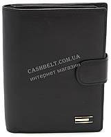 Стильный практичный кожаный мужской кошелек бумажник SALFEITE art. 8310N-BLK черного цвета
