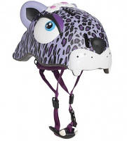 Защитный шлем CRAZY SAFETY Purple Leopard (прорезиненный)