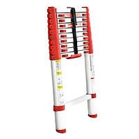 Intertool LT3032 Лестница телескопическая 10 ступеней