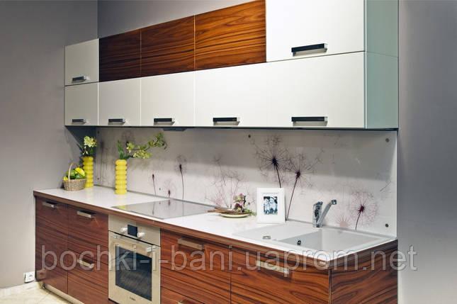 Кухонный гарнитур со шпонированным фасадом , фото 2