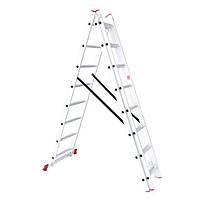 ✅ Лестница 3х секционная раскладная Intertool LT0308