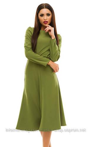 Платье женское с карманами