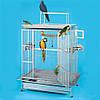 Вольер из нержавеющей стали для больших попугаев King's Cages (74x117x188cm)