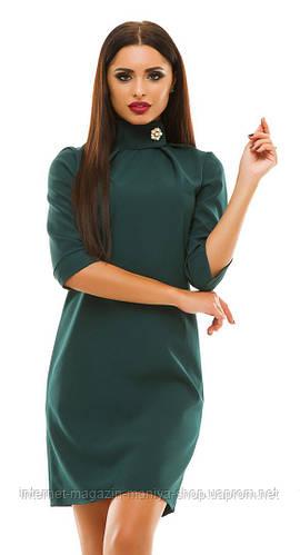Платье женское с горлом