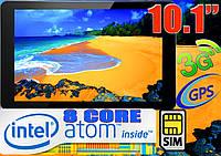 Планшет ТЕЛЕФОН GOCLEVER Intel 8 Core,GPS,3G,10.1'