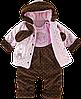 Полукомбинезон+куртка для девчоки